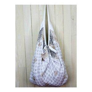 India Artisan Boho Hammock Cotton Handbag NEW